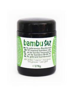 Packing 9x coarse bamboo salt (270gr)
