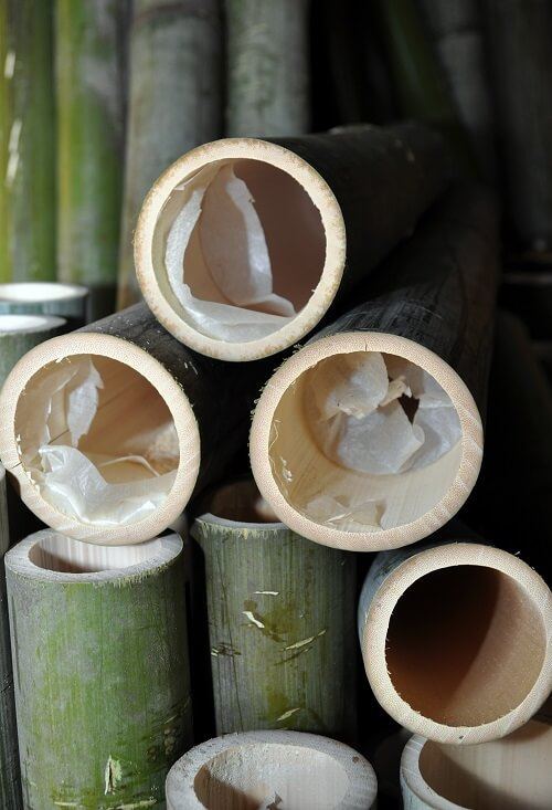 Cut-to-size bamboo