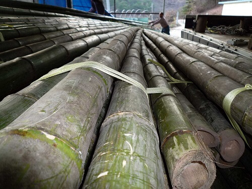 Bamboo storage to retain the juice and minerals