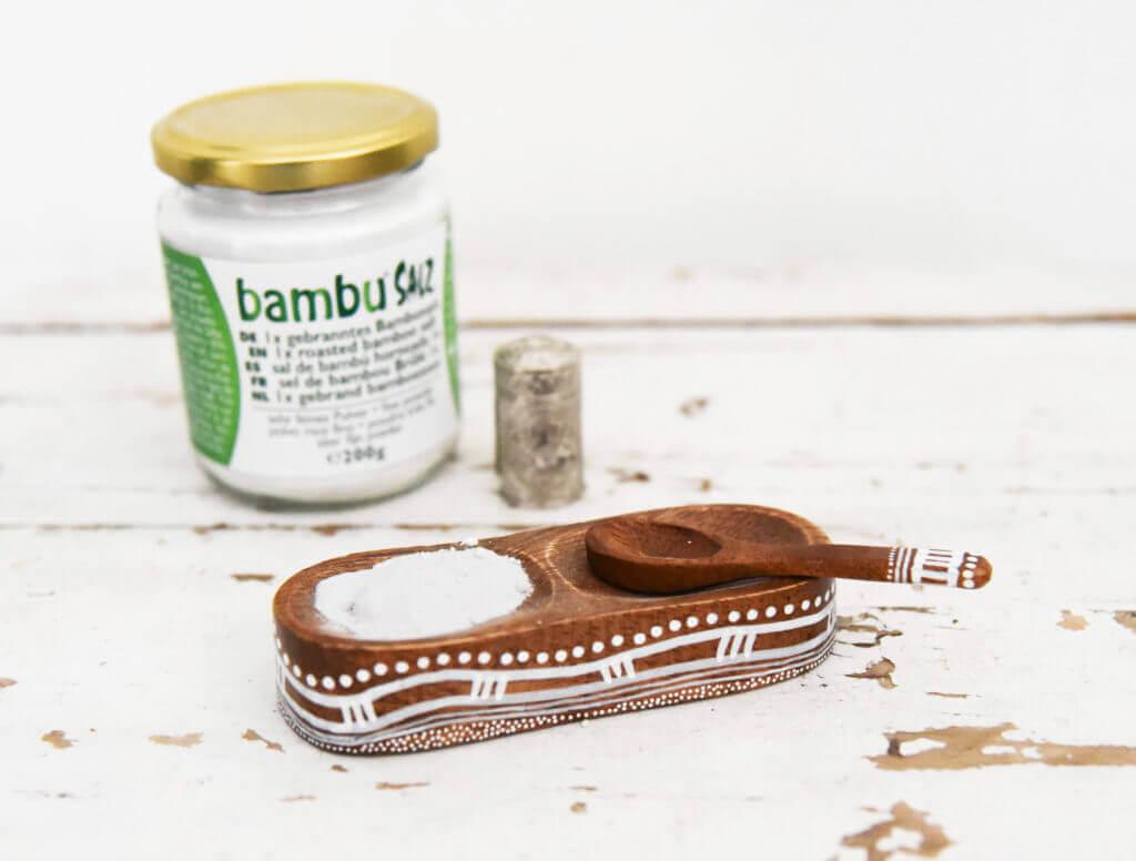 1 x gebranntes Bambussalz von Bambu® Salz