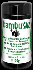 9x sal de bambú quemada y ajo negro – 100g