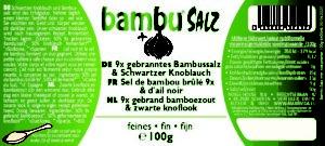 Etiqueta – 9x Sal de Bambú Quemado y Ajo Negro – 100g